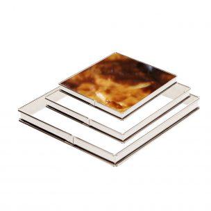 Cadre carré à tarte et flan matériel de pâtisserie la boutique du fournil